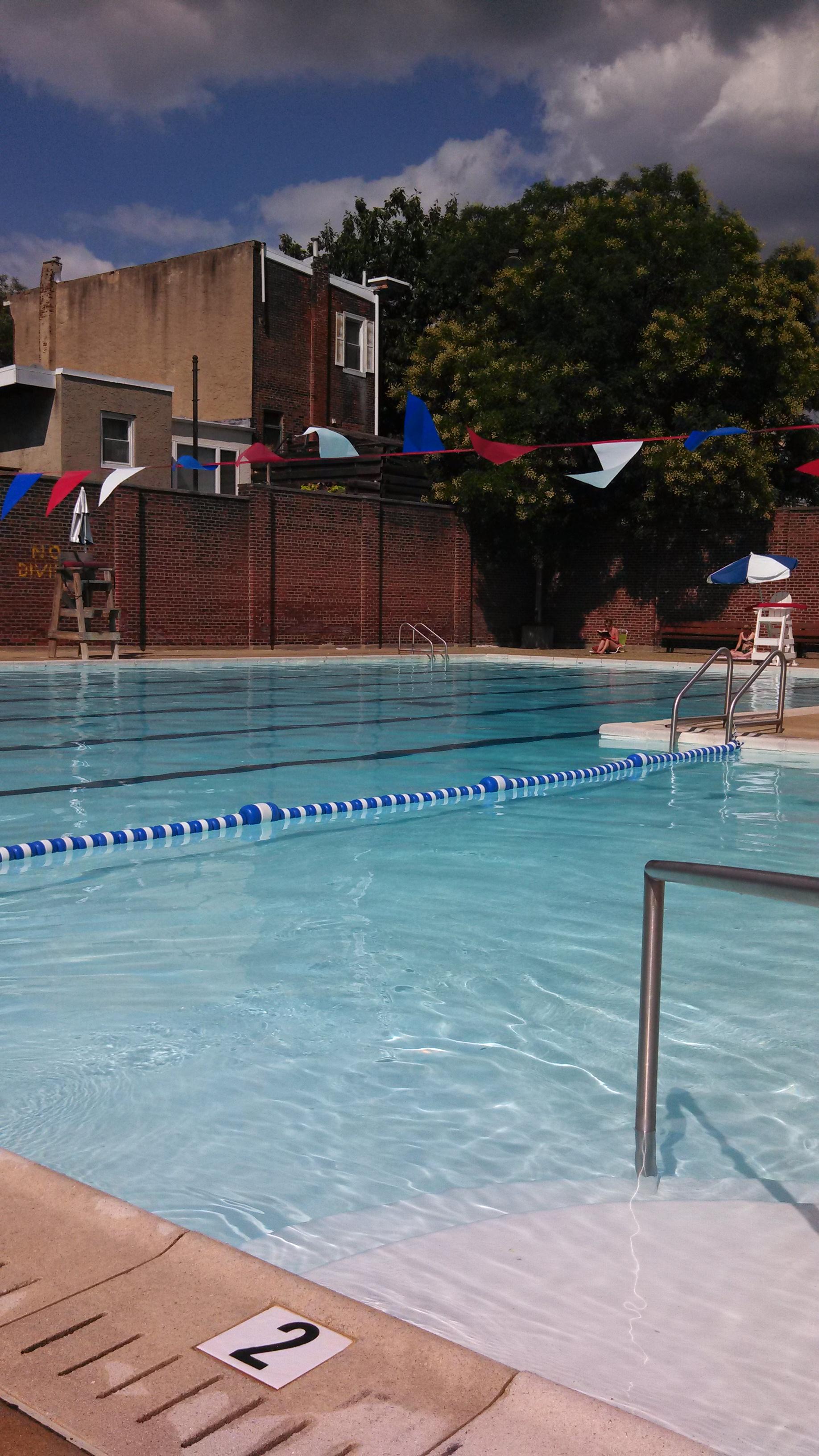 Pool city swimming philadelphia for Swimming pools in philadelphia